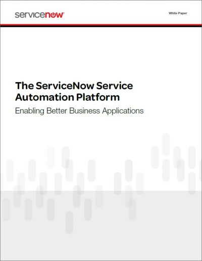 Service management platform voor het creëren, implementeren en managen van custom applicaties