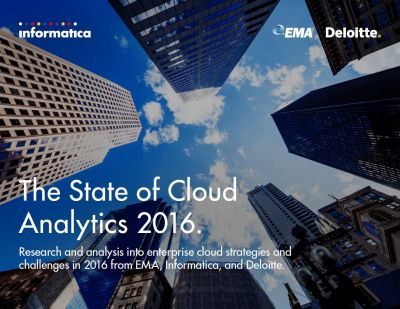 Cloud Analytics, waar staan we?