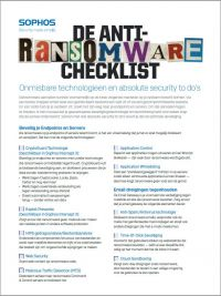 de-anti-ransomware-checklist--onmisbare-technologieen-en-absolute-security-to-dos