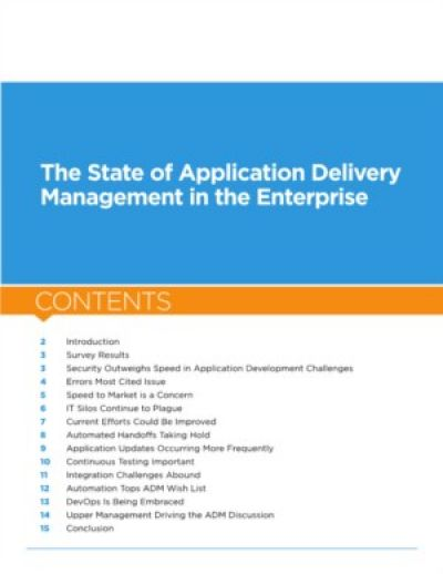 De status van DevOps en Application Delivery Management in organisaties onderzocht
