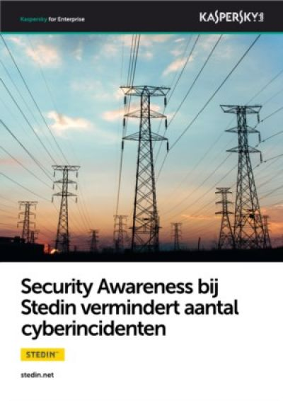 Security Awareness programma bij Stedin vermindert aantal cyberincidenten
