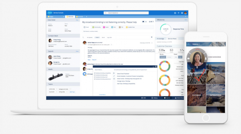 Salesforce stelt voor: Service Cloud Einstein
