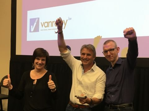 Microsoft Belux benoemt VanRoey.be tot SMB Partner of The Year