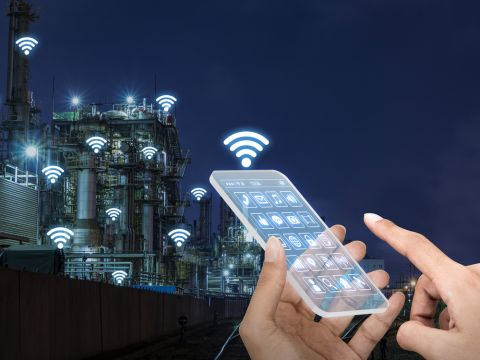 Internet of things IoT industrie beveiliging security