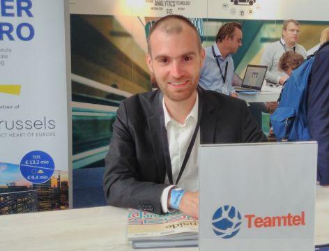 Cedric Hamelryck, co-founder Teamtel