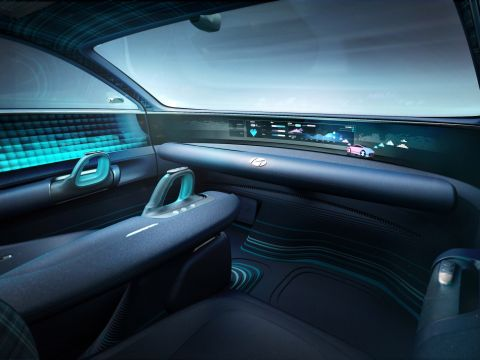 Prophecy interieur concept car